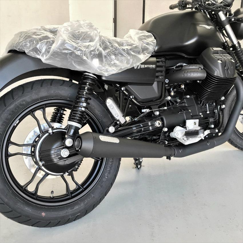 Short Exhausts Moto Guzzi V7 III - Mistral Special Parts